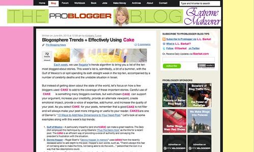 problogger new site