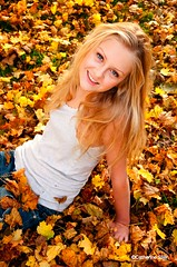 MollyGmp.008 (visionsrecalled) Tags: autumn portrait girl leaves visions model young picture catherine fallen siler recalled