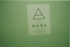 m∆rs (Bruna Ferrara;) Tags: mars film triangles 35mm promo triangle stuff roll triangulo 30secondstomars triangulos thisiswar