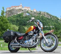 ViragoXV750 / Riegersburg (Bikerwolferl) Tags: bike austria sterreich motorbike motorcycle yamaha virago steiermark styria motorrad oesterreich riegersburg xv750