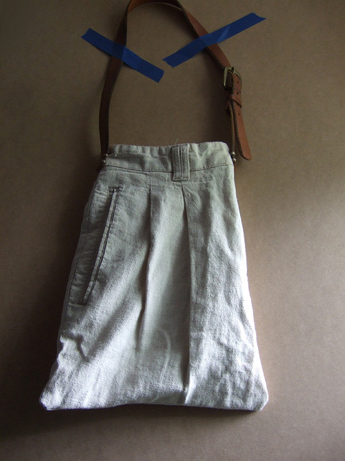 Linen Pants Bag