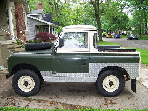 1963 land rover 88 series ii pickup for sale side - a photo on