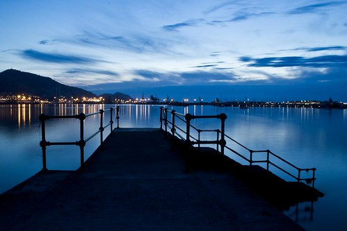 Getxo at night II