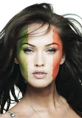 Megan Fox Italia (sicarioLB) Tags: world africa uk england usa cup spain soccer south megan fox deustchland 2010 iphone