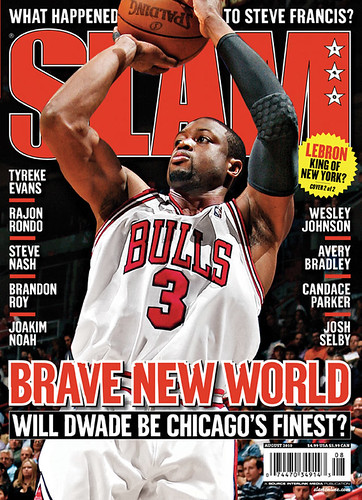 LEBRON JAMES & D WADE SLAM MAGAZINE COVERS