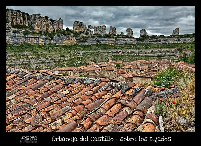Orbaneja del Castillo - Sobre los tejados