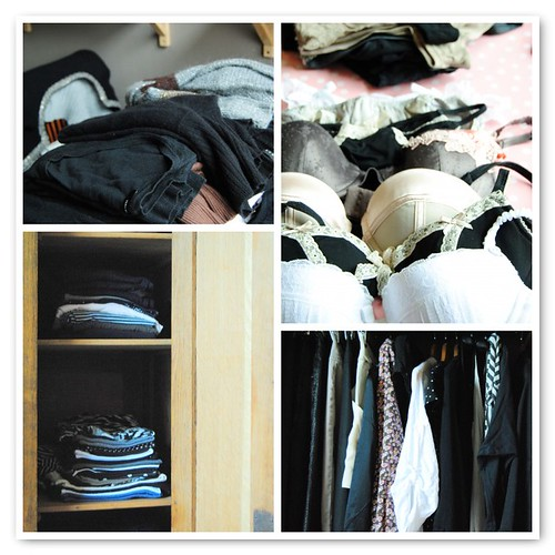 Domestic Stories: Cleaning out your closet