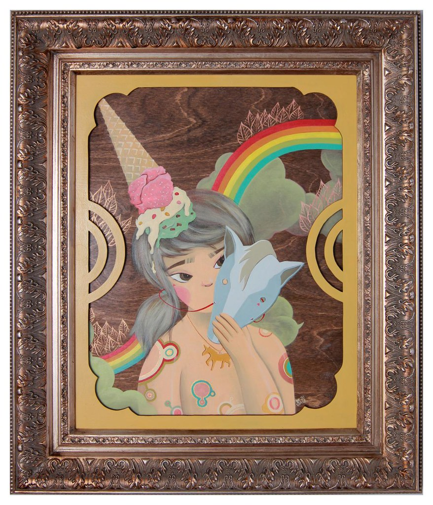 I Believe....My Unicorn (framed)