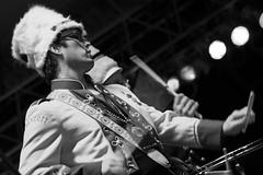 Festival International de Louisiane (Stacey Warnke Photography) Tags: portrait bw music louisiana punk drum band mucca pazza festivalinternationaldelouisiane
