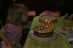 Three Candles (tim ellis) Tags: family birthday candles three makeawish ashbydelazouch uk niece birthdaycake
