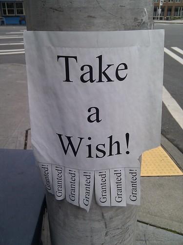 Take a wish