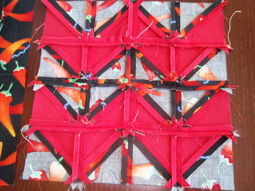 Potholder Unfinished Back