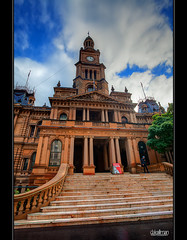 Sydney Town Hall - HDR (Dale Allman) Tags: sk