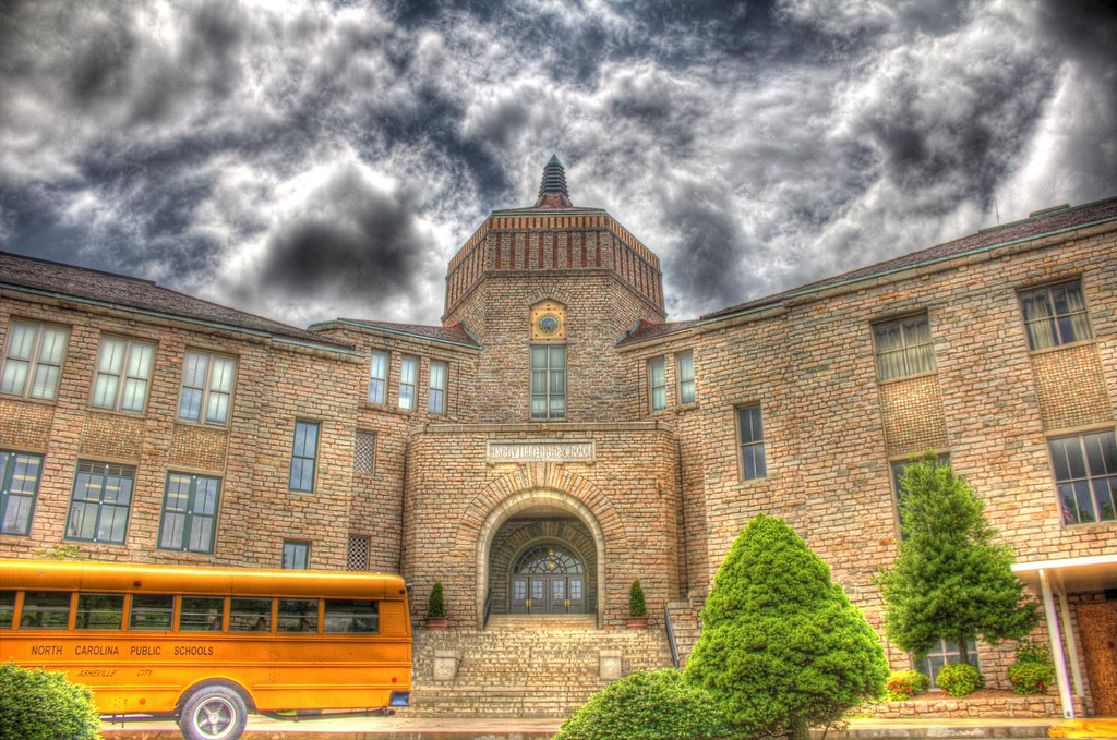 asheville high school addition - 1024×679