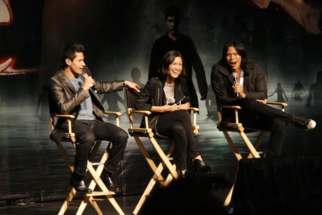 Eclipse Convention: Alex Meraz, Julia Jones, and Chaske Spencer by Arrow of Apollo