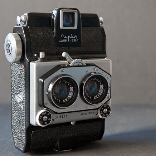 Italian Duplex Super 120 3D camera