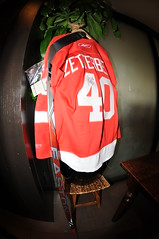 Signed Zetterberg Jersey