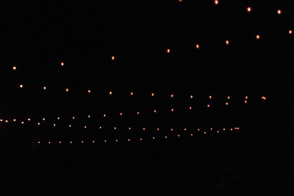 canopy of lights