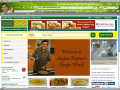 Sanjeev Kapoor Browser Theme