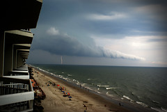 thunderstorm (IAmTheSoundman) Tags: ocean city cloud storm beach sc garden jake takumar balcony south 28mm carolina myrtle thunderstorm lightning jakob barshick