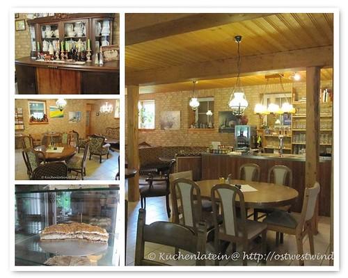 Hof - Café Schau in Damp Innenräume