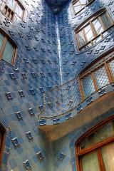 Gaudi's Casa Batlló, Barcelona, Spain