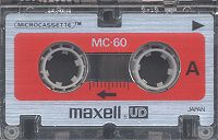 Maxell Micro Cassette