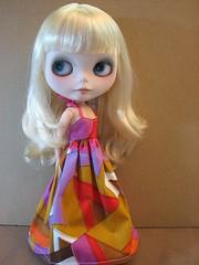 New girl, new dress...