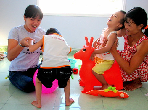 Trang Helping Kids in the Countryside