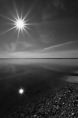 //..//..// (Peny_Giannakou) Tags: sky sun sunlight white black reflection monochrome clouds landscape mono greece ελλάδα alikes τοπίο messolonghi nikond90 aitoloakarnania αιτωλοακαρνανία μεσολόγγι αλυκέσ