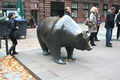 Börsen-Bär - Frankfurter Börse