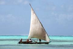 sailing (Blue Spirit - heart took control) Tags: sea clouds boat barca nuvole mare waves sailing zanzibar vela onde azzuro jambiani artofimages bestcapturesaoi piùsiavvicinalinvernopiùpensoallestate