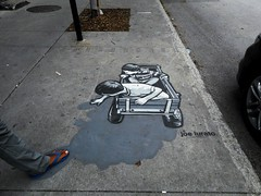 (navejo) Tags: montreal quebec canada sidewalk pavement plateau