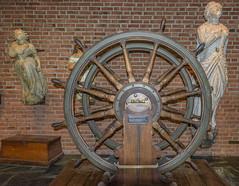 Steering Wheel From The Kong Sverre (dietmar-schwanitz) Tags: oslo norge norway norwegen bygdøy norwegianmaritimemuseum museum steeringwheel steuerrad dampfschiff steamship steamfrigate kongsverre nikond750 nikonafsnikkor1635mmf40ged lightroom dietmarschwanitz