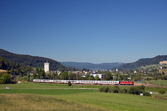 IC 207 @ Sissach (Wesley van Drongelen) Tags: sbb cff ffs schweizerische bundesbahnen chemins de fer fédéraux federaux suisses ferrovie federali svizzere swiss federal railways db deutsche die bahn ic intercity serie class type re 44 ii 420 sissach trein train zug
