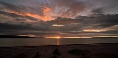 Sunrise over the Moray Firth. (richbriggs28. Love being a grandad :)) Tags: richbriggs28 rosemarkie morayfirth scotland fortgeorge sunrise water cloudsstormssunsetssunrises