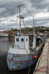 The Old Tub. (DeviantSnappa) Tags: whitby boat fishing yorkshire harbour colour nikon 3200