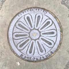 BURT & POTTS COALPLATE WARWICK SQUARE PIMLICO (xxxxheyjoexxxx) Tags: coalplate coal plate iron shute vintage cover opercula plates coalplates lid lettering foundry london pimlico