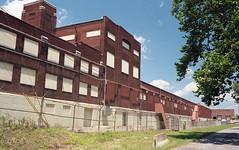 Old Heinz Factory (Robert Shatzer) Tags: chambersburg heinz landscape oldfactory portraits400 minoltasrt101 35mmscan