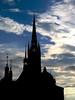 Januar (pixel-rausch) Tags: sky church clouds stockholm riddarholmskyrkan calendarshot