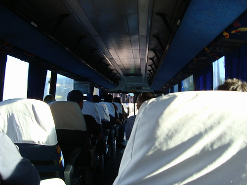 Bus ride to Tijuana