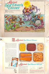 1972 Libbyland Sea Diver's Dinner Box (gregg_koenig) Tags: old sea dinner vintage frozen milk tv kid divers box gene magic 70s libby mean 1970s 1972 libbyland