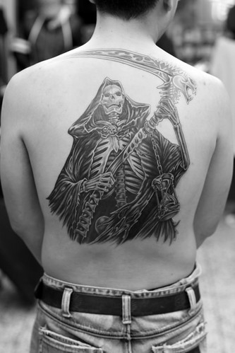 angel tattoo · devil tattoo · reaper tattoo 死神刺青