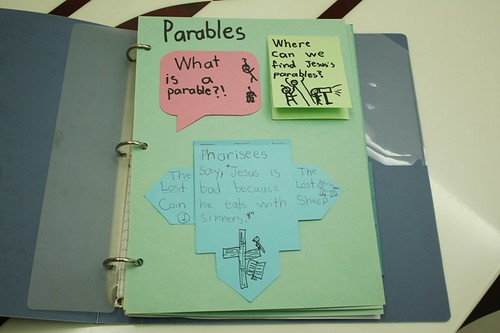 parables notebooking