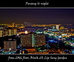 Penang @ night #1 (tlchua99) Tags: night nightscape citylights fujifilm penang hdr picturenaut sgdua s100fs sungeidua lipsenggarden