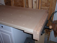 MDF Workbench Top