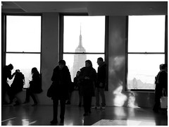 TOP OF THE ROCK_MG_9607 (Kirsten Bresciani) Tags: city nyc newyorkcity travel newyork tourism downtown view manhattan tourists empirestatebuilding empirestate rockefellercentre rockefeller topoftherock