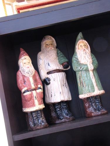 Sparkly Santas 2