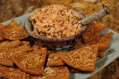 Serve with Crispy Pita Triangles