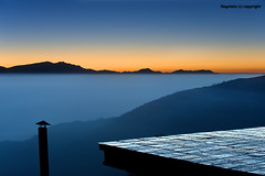 Nepal :: Sunrise over Nagarkot (Ragstatic) Tags: world life nepal light sunset portrait people mist mountain snow mountains color weather misty fog architecture sunrise landscape interesting nikon shadows view rags candid culture peak calm mystical kathmandu serene tall hop himalaya magical himalayas journalism sadhu bhaktapur tallest nagarkot relevant photojounalism d700